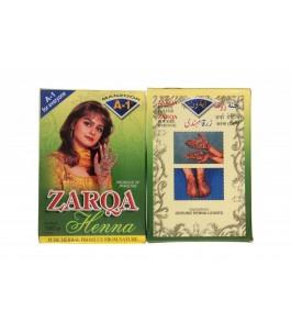 Le Henné Pakistanais Zarka,...