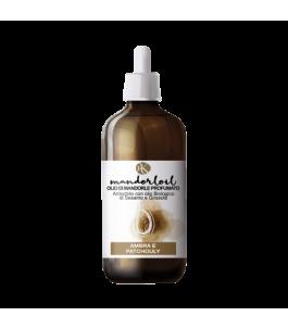 Organic Almond oil Scented - Amber and Patchouli - Alkemilla|YumiBio