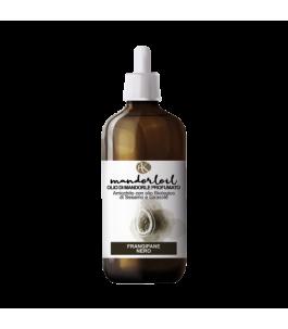 Organic Almond oil - Scented Frangipane Black - Alkemilla|YumiBio