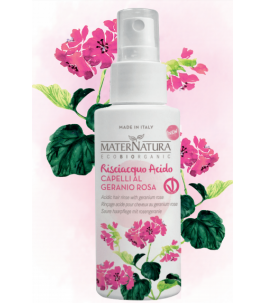 Rinse Acid to the Geranium Rose - maternatura products|YumiBio