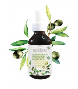 Lotion bio Stimulating, Anti Fall to the Leaves of the Olive tree - maternatura products | Yumi Bio