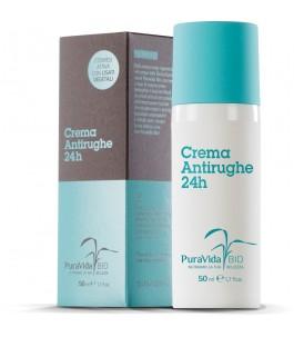 Crema Antirughe 24 H - PuraVida Bio  Yumibio
