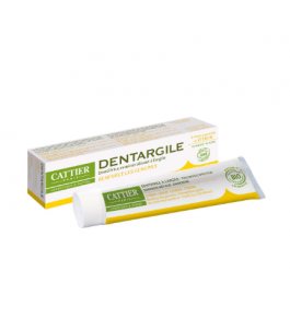 Clay and Lemon Toothpaste - Cattier Yumibio