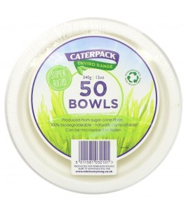 Saladier Jetable Compostable - Caterpack|Yumibio