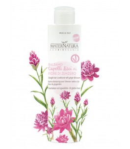 Conditioner for Smooth Hair Flower, Ginger - maternatura products | Yumibio