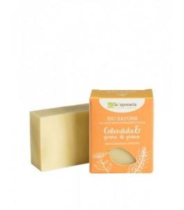 Bio soap, Calendula and Wheat Germ - The Saponaria|Yumibio