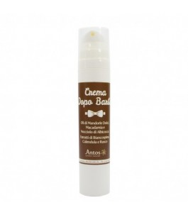 Cream after shave Natural soothing and moisturizing