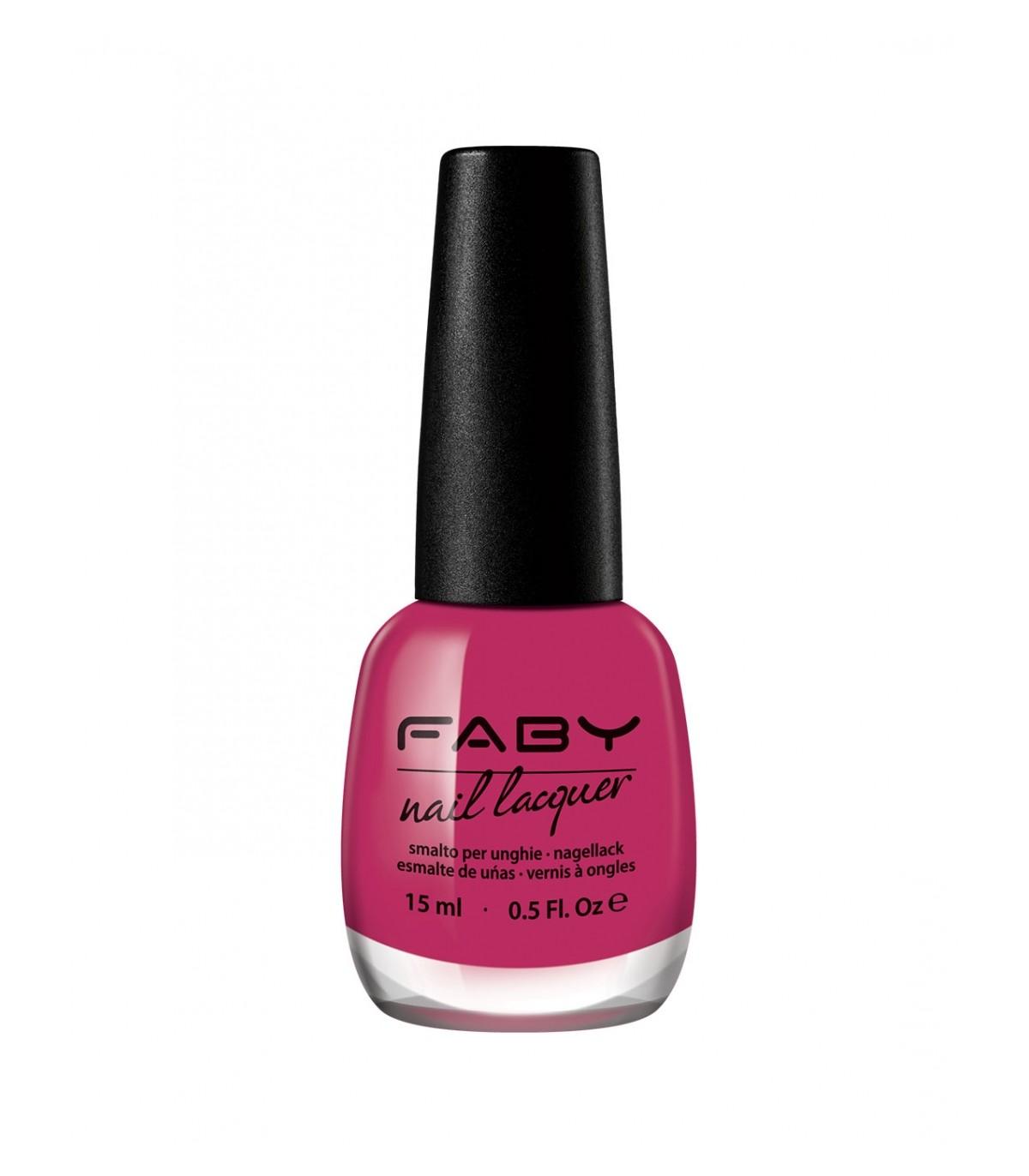 Vegan Nail Polish Felicità - Faby Nails  YumiBio