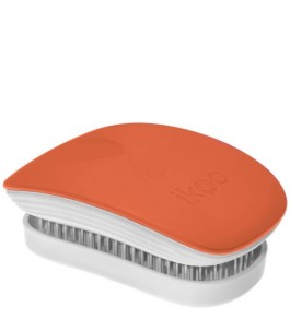Spazzola Pocket in Silicone - Orange Blossom - Ikoo | Yumibio