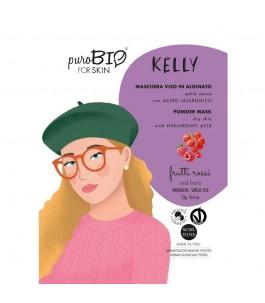 Maschera Viso Kelly Peel Off Pelle Secca - Frutti Rossi - Purobio| Yumibio