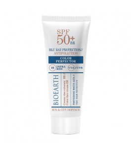 The solar Face of the City with Color Perfector - SPF 50 - Bioearth|Yumibio