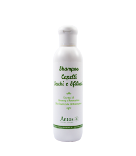 Natural Shampoo for Dry Hair and Damaged hair - Antos|Yumibio