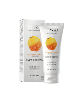 Illuminating Moisturizing Mask Ecobio Glow Cocktail