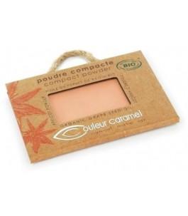 Poudre Compacte Orange Beige 604 - Couleur Caramel| Yumibio