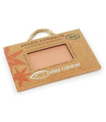 Compact Powder Golden Brown 606 - Couleur Caramel| Yumibio