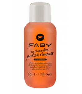 Nail Polish remover without Acetone - Faby Nails |Yumibio
