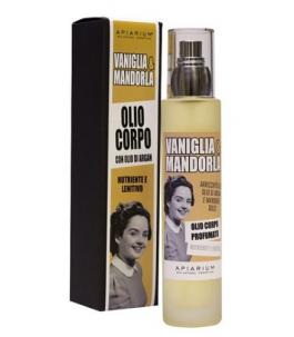 Body oil Organic Vanilla and Almond - Apiarium| Yumibio