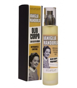 Olio Corpo Bio Vaniglia e Mandorla - Apiarium| Yumibio