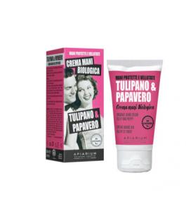 Crema Mani Tulipano e Papavero - Apiarium Yumibio