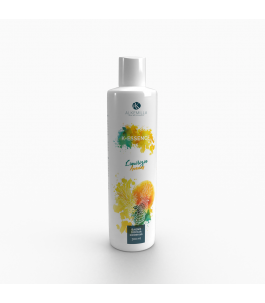 Shower gel Sweet Liquorice and Pineapple - Alkemilla | Yumibio