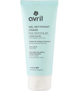 Cleansing Gel for the Face Organic Normal skin, and Sensitive - Avril|Yumibio