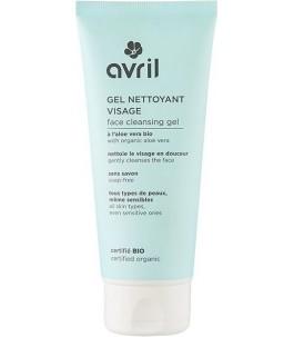 Gel nettoyant pour le Visage Bio peaux Normales et Sensibles - Avril|Yumibio