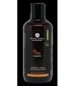 Nou - Shampooing Nourrissant - BeWell Vert | Yumibio