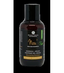 Nou - Nourishing Shampoo 100 ml - BeWell Green | Yumibio