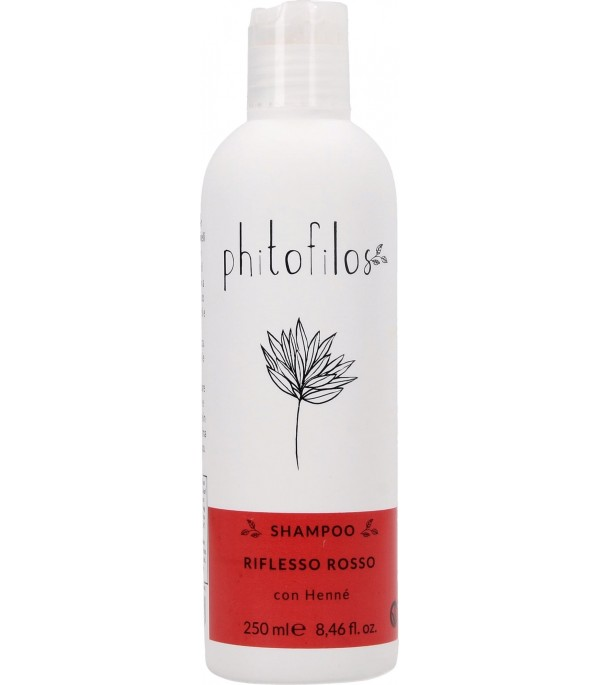 Shampoo Riflessante Rosso all'Hennè - Phitofilos|YumiBio