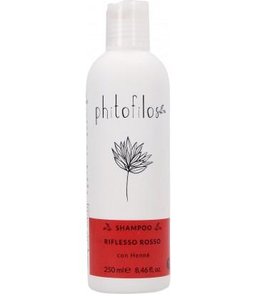Shampoo Riflessante Rosso all'Hennè - Phitofilos YumiBio