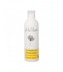 Shampoo Highlighting Blonde - Chamomile and Rhubarb - Phitofilos|YumiBio