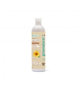 Shampoo Repair Karite for Dry Hair - Natural Green | Yumibio