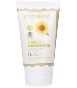 Conditioner Sunflower and Shea butter for Dry Hair - Natural Green | Yumibio