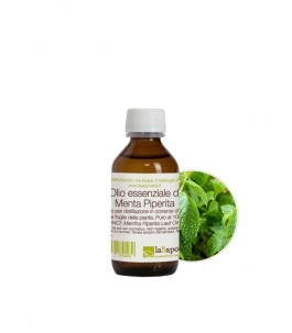 The essential oil of Peppermint 100 ml - The Saponaria | Yumibio