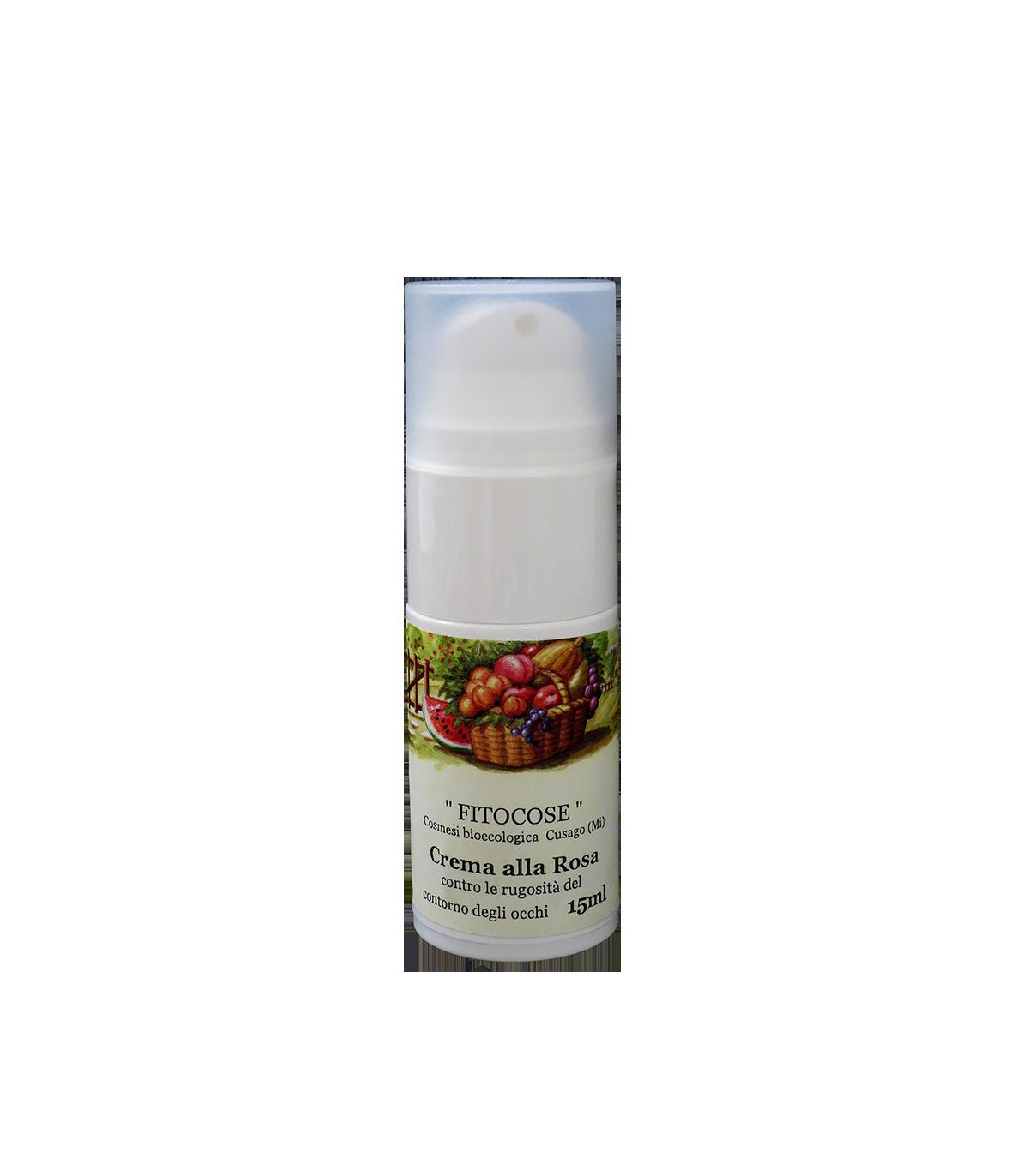 Crema Contorno Occhi alla Rosa Rubiginosa - Fitocose - Yumibio