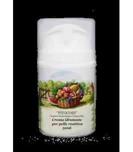 Crema Idratante per Pelle Reattiva - Fitocose | Yumibio