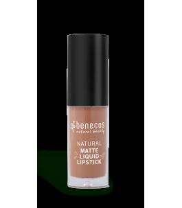 Lipstick Liquid Pink Nude - Desert Rose - Benecos | Yumibio