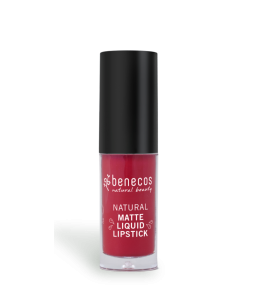 Lipstick-Liquid Red Hot - Bloody Berry - Benecos | Yumibio