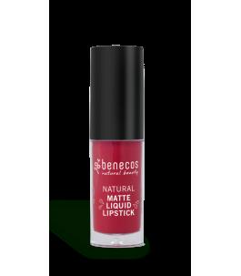 Rouge À Lèvres-Liquide Red Hot Sanglante Berry - Benecos | Yumibio