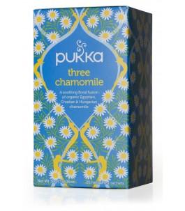 Thé - Trois Camomille - Pukka | Yumibio