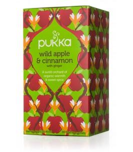 Thé Pomme, de Cannelle et de Gingembre - Pukka | Yumibio