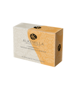 Bar soap is a Soothing the Lime tree and Mimosa - Alkemilla | Yumibio