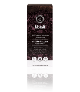 Solid Vegetable Dark Brown - Khadi YumiBio
