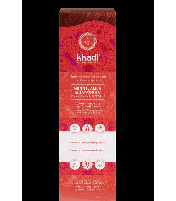 Solid Vegetable Henna, Amla & Jatropha - Khadi|YumiBio
