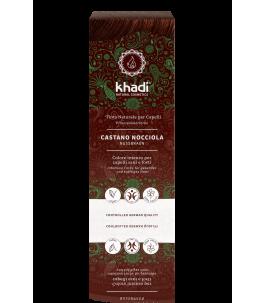 Solid Vegetable Powder - Chestnut-Hazelnut - Khadi Yumibio