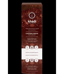 Solid Vegetable Powder - Brown Medium - to- Khadì   Yumibio