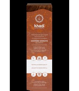 Solid Vegetable Powder - Auburn - Khadì   Yumibio