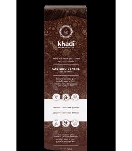 Solid Vegetable Powder - Brown Ash - Khadì   Yumibio