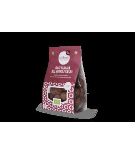 Baci di Dama all'Avena e Cacao 200 gr - Banda Biscotti   Yumibio