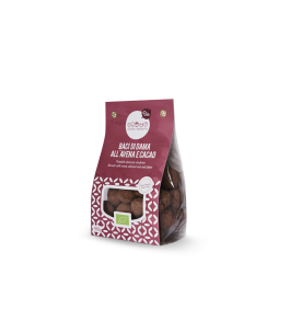 Baci di Dama in the Oats and Cocoa 200 gr Band - Biscuits   Yumibio